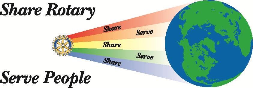 Share Rotary, Serve People