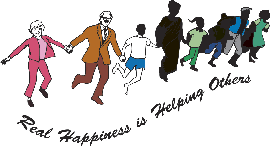 Real Happiness Is Helping Others