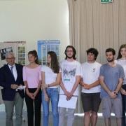 """2018 Giugno - Consegna Premi ai vincitori Contest """"Energie per fonti rinnovabili"""" - Istituto Agrario L. Perdisa"""
